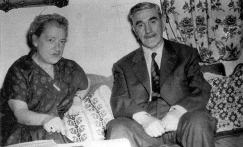 Павелич с женой в Буэнос-Айресе