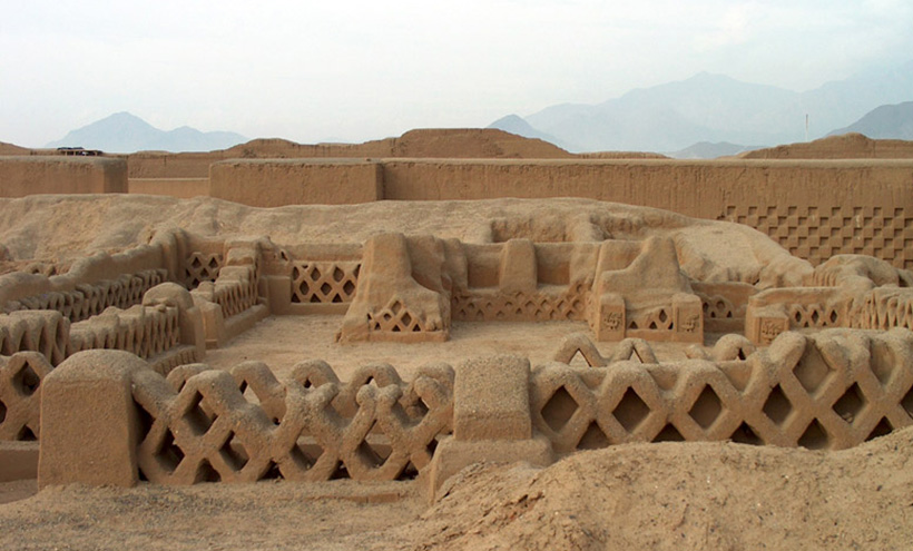 Руины города Чан-Чан