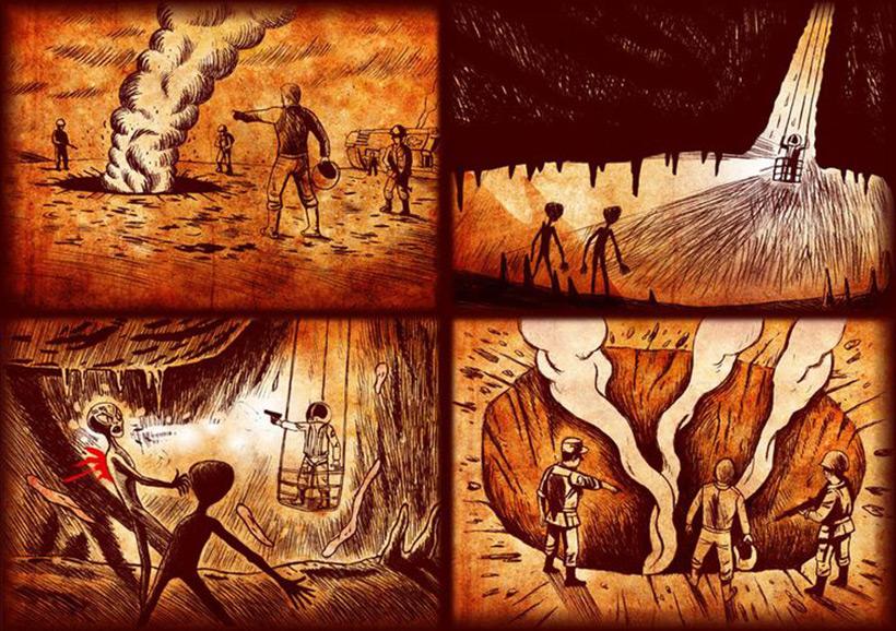Фил Шнайдер - реконструкция боя с инопланетянами