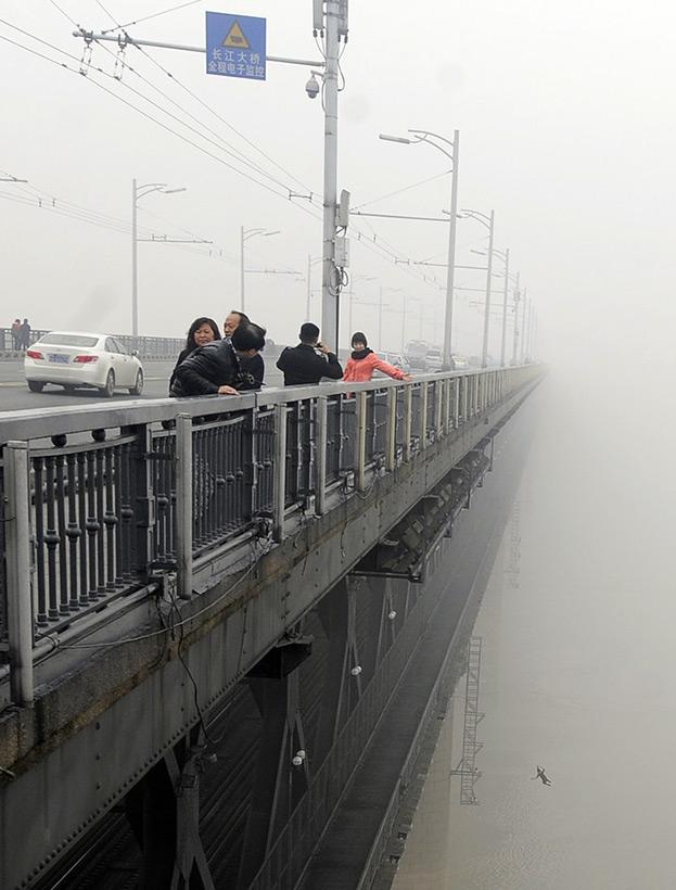 Самоубийство на мосту