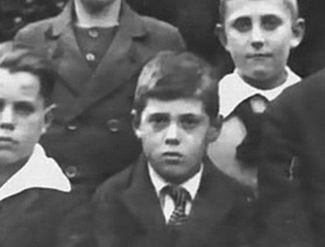 Адольф Эйхман в детстве