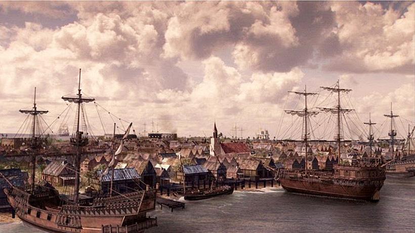 Пиратский город