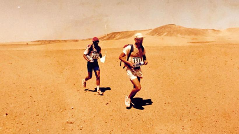 Марафон в пустыне