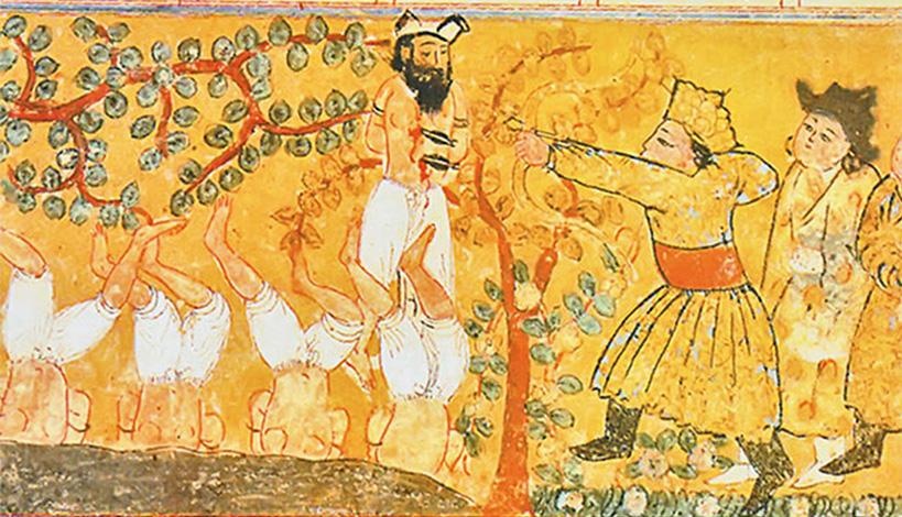 Монголы казнят пленных