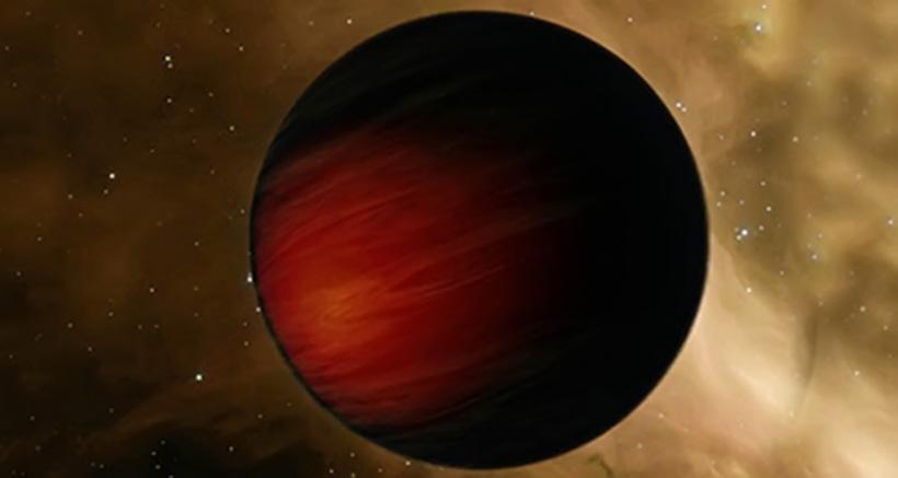 Самая черная планета