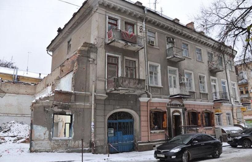 Дом по Николаевскому переулку