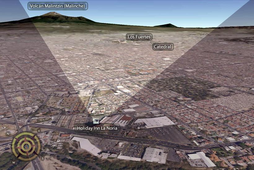 Яркий НЛО вылетел из-за вулкана в Мексике и был снят на камеру