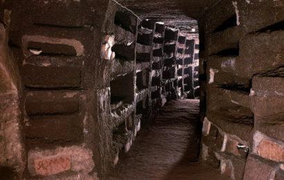 Древние катакомбы под Римом