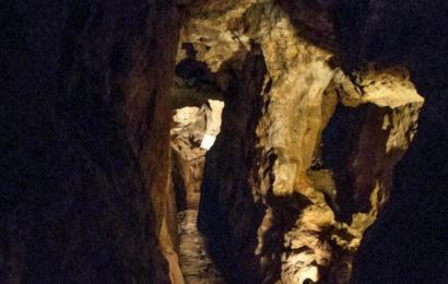 Древние рудники, вероятно, прорытые детьми