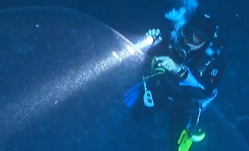 У берегов Турции дайверы обнаружили загадочный феномен