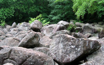 Звенящие скалы или поющие камни