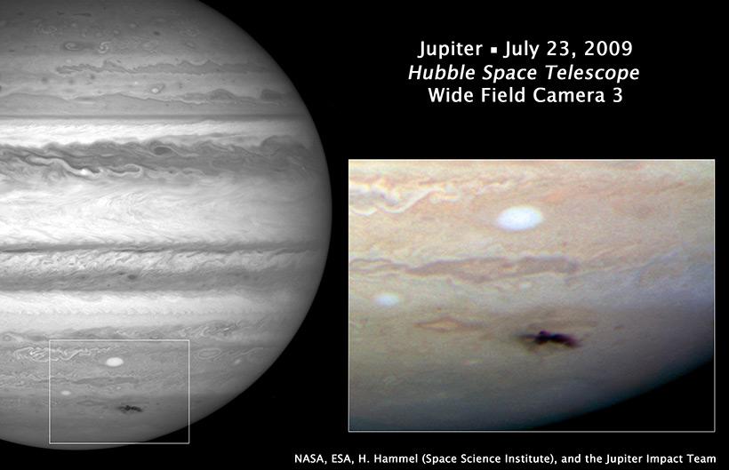Энтони Уизли и «шрам» Юпитера