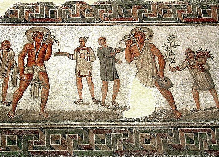 Спартанцы и илоты