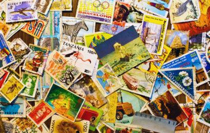 Язык почтовой марки
