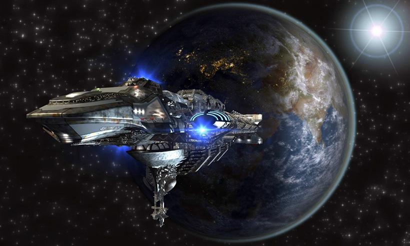 Внеземной космический флот