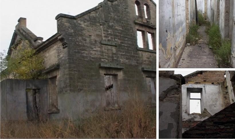 Страшный дом у Таировского кладбища