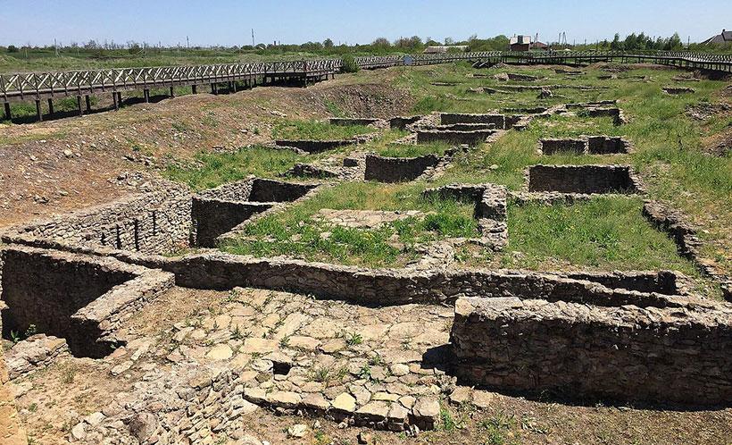 Акрополь, Танаис