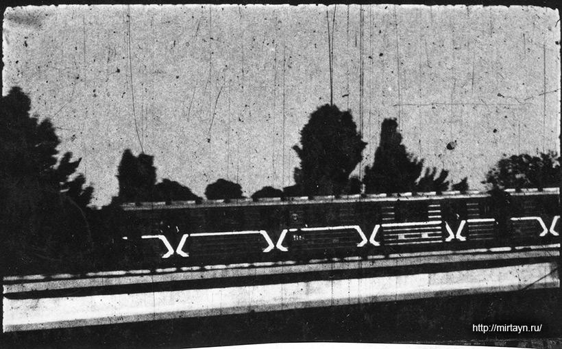 НЛО на кадрах киносъёмки метрополитена в Ташкенте в 1991 году