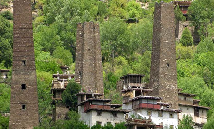 Башни Тибета