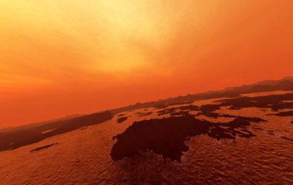Метановые моря на Титане