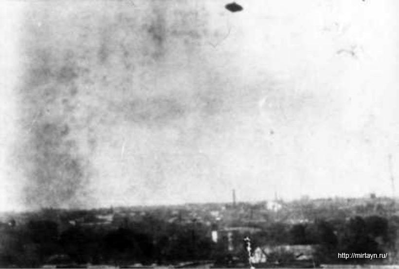 НЛО в небе над Ташкентом 7 ноября 1990 г.