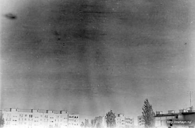 Фотографии НЛО над Ташкентом в 1992 году