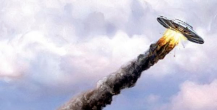 Авария НЛО в Польше