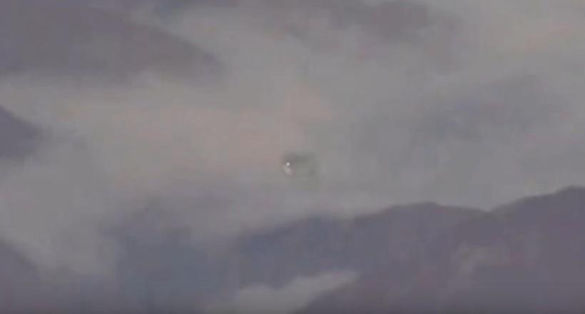 НЛО замечены в облаках в горах Аппалачи в 2010 году