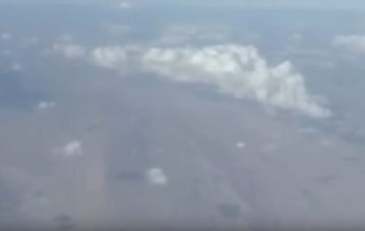 НЛО пролетел под самолётом над территорией Ирана
