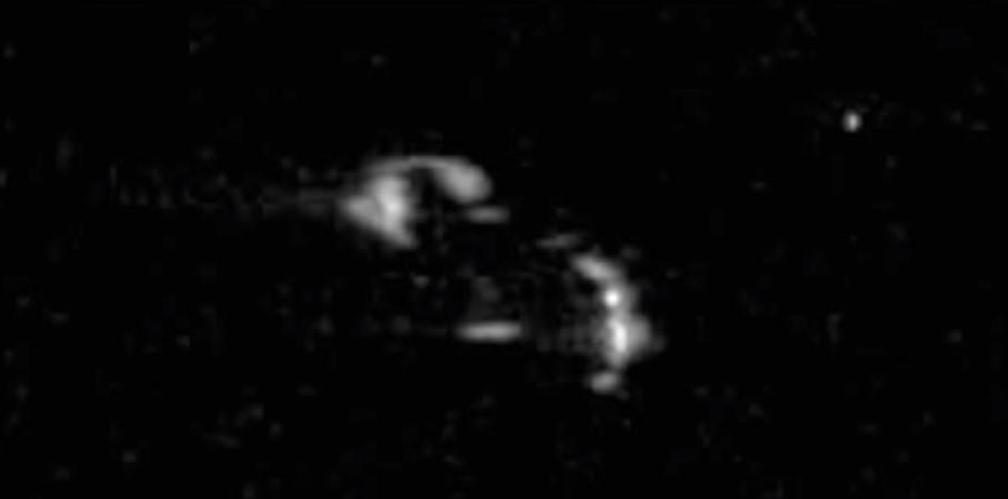 В провалившейся лунной миссии американцев участвовал НЛО