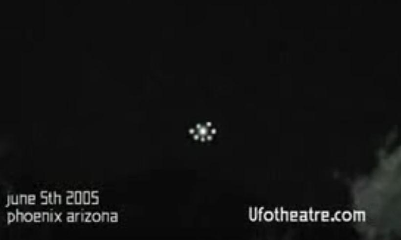 Объекты над Аризоной в 2005 году