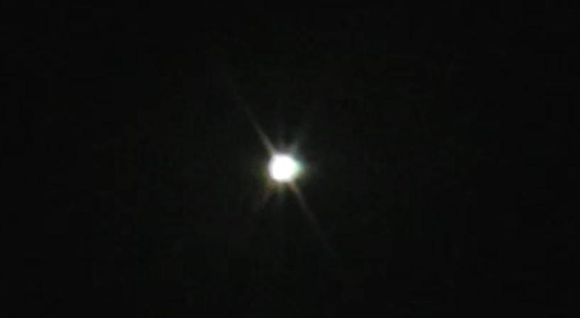 Яркое НЛО пронеслось над Аризоной в 2011 году
