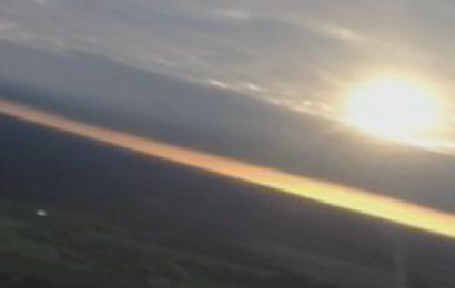 Пилот самолёта заснял на камеру НЛО в 2013 году над Коста-Рикой