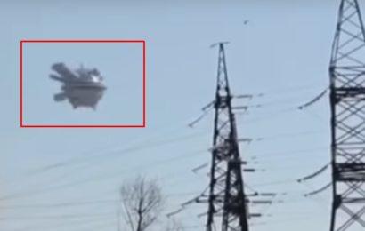 Видео НЛО над посёлком Известковый в ЕАО