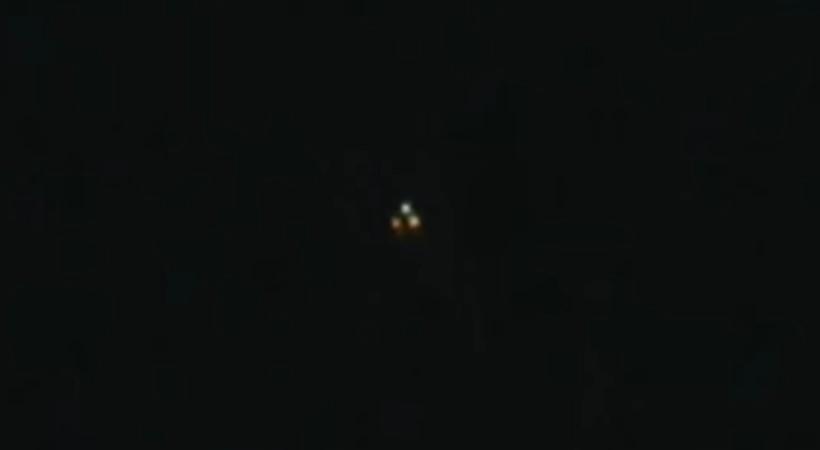 Семейная пара сняла на видео НЛО над Фресно (Калифорния) в 2013 году