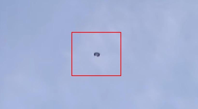 НЛО засняли в небе над Джорджией (США) в 2012 году