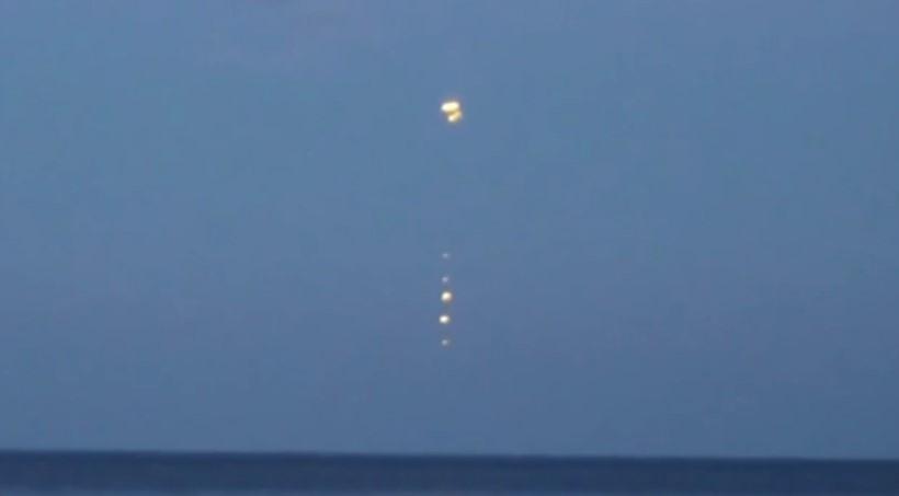 НЛО в Польше над Балтийским морем в 2014 году