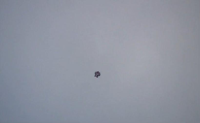 НЛО засняли в небе над Лонгфордом (Ирландия) в 2013 году