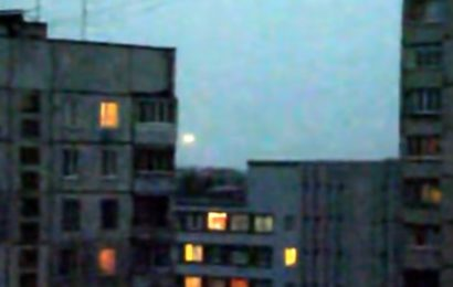 Яркий объект над Харьковом в 2013 году