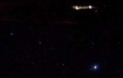 НЛО сфотографировали на МКС