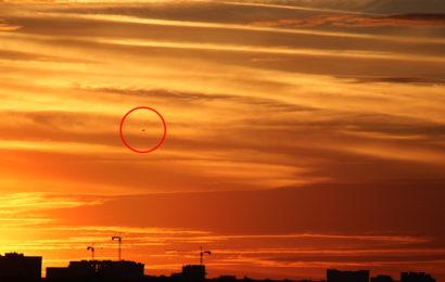 В первые дни мая активизировались НЛО над Москвой