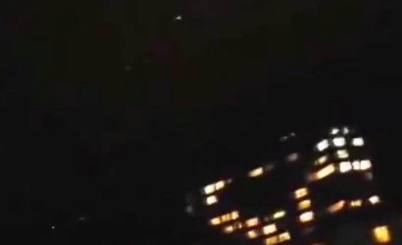 Многочисленные объекты в небе над Одессой в 2009 году
