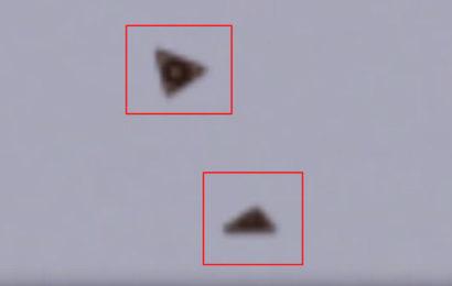 НЛО засняли над Пальмирой в Сирии в 2013 году