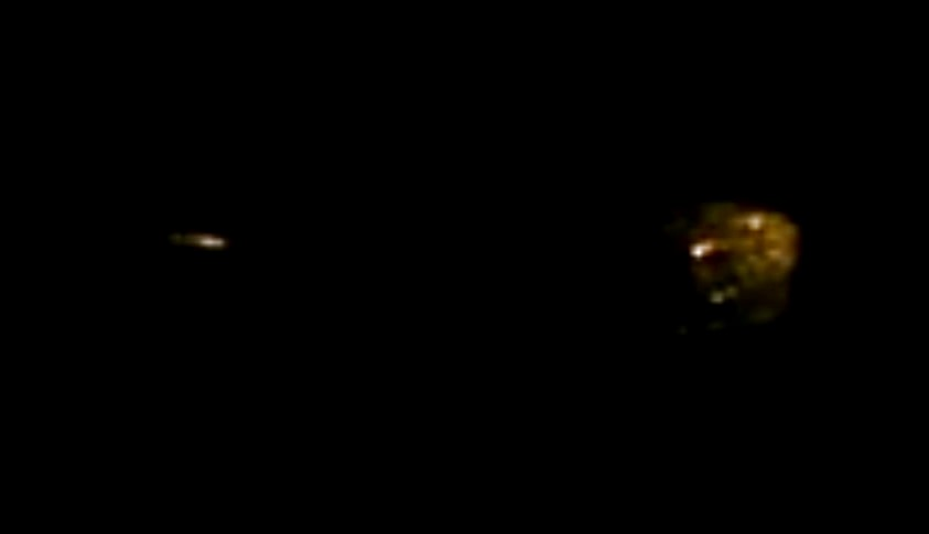Молния сбила маскировку НЛО над Канадой