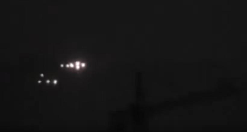 3 группы НЛО были сняты в сентябре 2011 года над Сантьяго