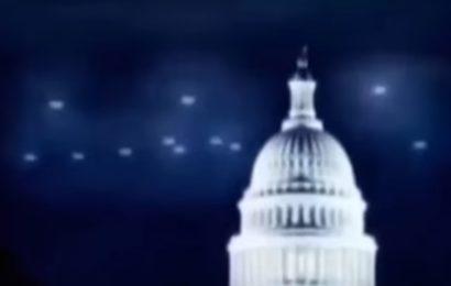 НЛО над Белым домом — самое массовое свидетельство