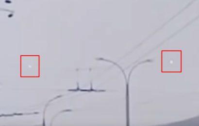 «Огненный дождь» над Якутском видели 26 ноября 2016 года