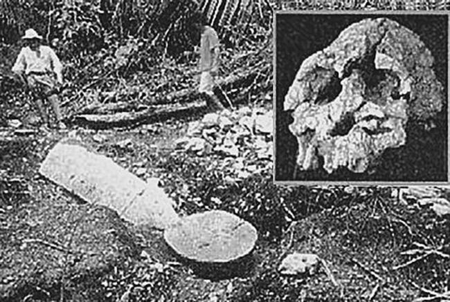 Место обнаружения лузирского человека