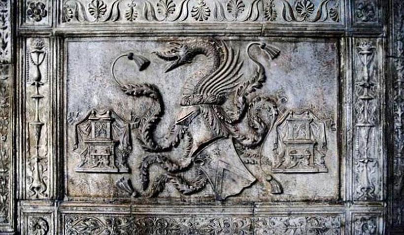 Родовой герб Влада Цепеша