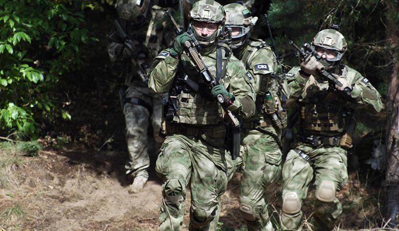 Бойцы подразделения GROM